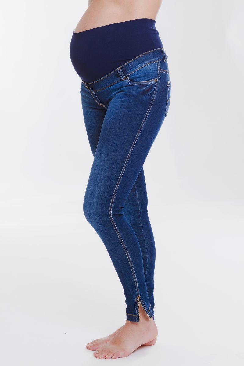 Джинсы для беременных 08412 синий