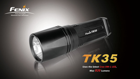 Фонарь Fenix TK35 (Cree XM-L, 820 лм)