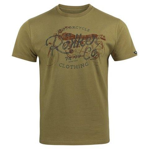 Rokker, Футболка мужская Heritage, коричневый