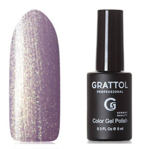 Grattol, Гель-лак Classic Collection №157, Lilac Golden pearl 61300