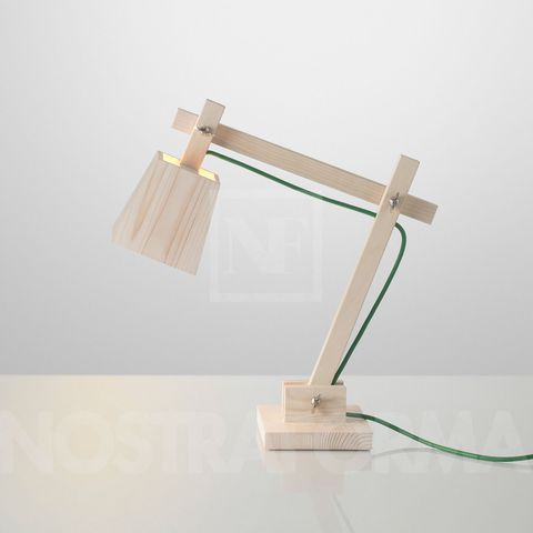 replica table lamp  MUUTO WOOD LAMP
