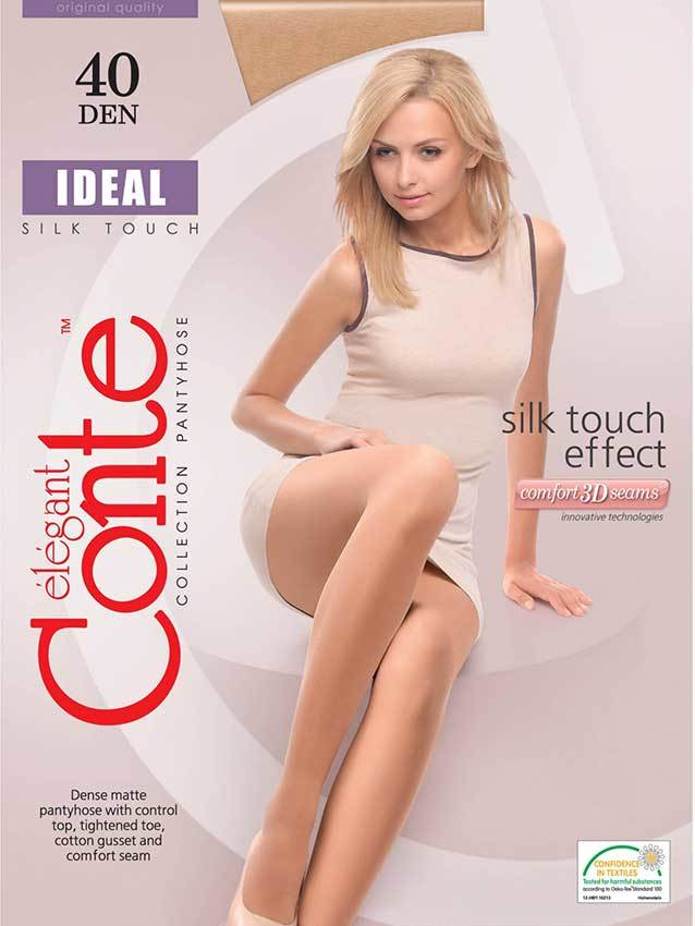 Женские колготки Ideal 40 Conte