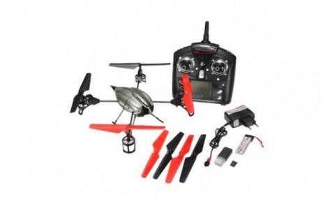 Радиоуправляемый вертолет (квадрокоптер) WL Toys V989 с ракетницей