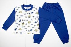 885 пижама мальчик стройка