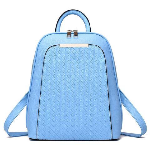 Женский рюкзак 7288 Light blue