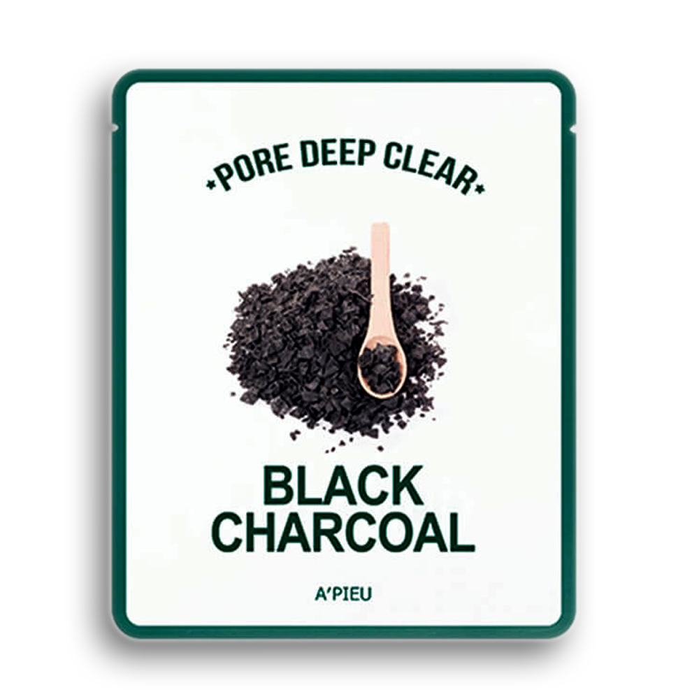 A'Pieu Pore Deep Clear Black Charcoal Mask, 25 gr