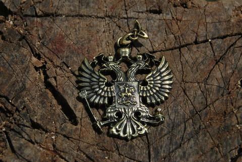 Кулон Двуглавый орел