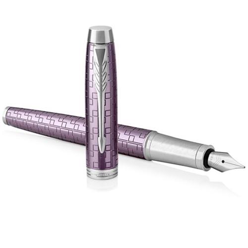 Parker IM Premium - Dark Violet CT, перьевая ручка, F