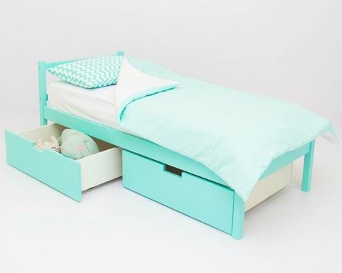 Кровать ФОРЕСТ мятный
