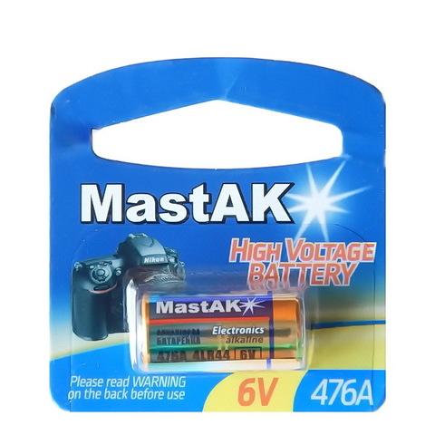 Батарейки MastAK Alkaline 476A (4LR44), 6V (1/20) BL