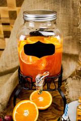 Диспенсер для напитков на подставке «Yorkshire», 4 литра, с меловой вставкой