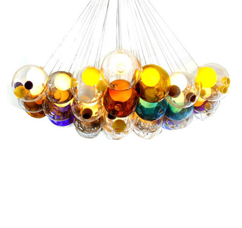 replica BOCCI  28.36 chandelier (colored)