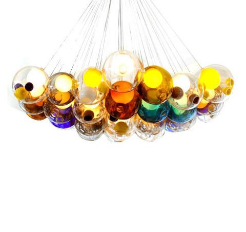 replica BOCCI  28.36 chandelier (colored)