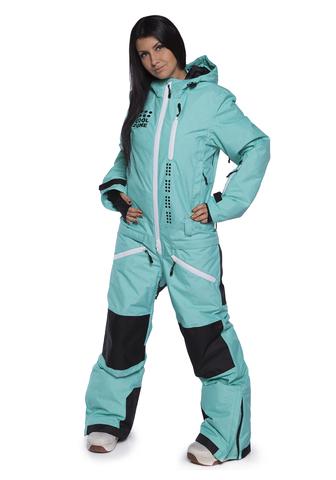 COOL ZONE KITE сноубордический комбинезон женский бирюзовый