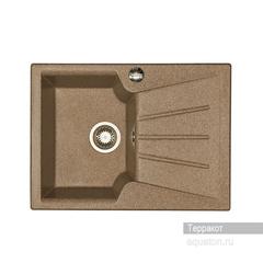 Мойка Акватон Монца 1A716032MC270 для кухни из искусственного камня, терракотовая