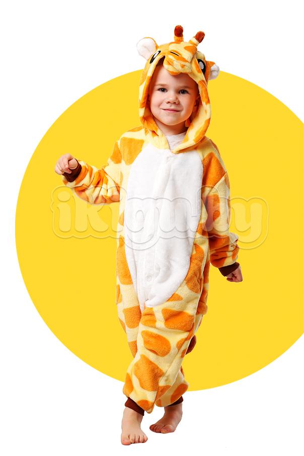 """Детские пижамы кигуруми """"Жираф"""" жираф_детский_.jpg"""