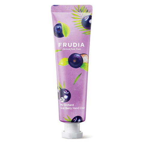Frudia Крем для рук c ягодами асаи Squeeze Therapy Acai Berry Hand Cream 30г