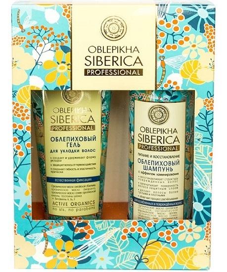 Подарочный набор, Natura Siberica, Oblepikha Prof