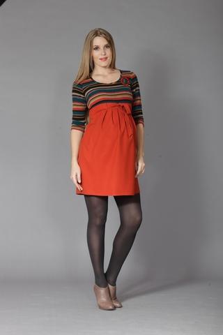 Платье 05973 оранжевый