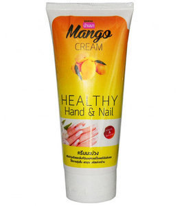 Banna Крем для рук и ногтей Манго Healthy Hand & Nail Cream Mango, 200 мл
