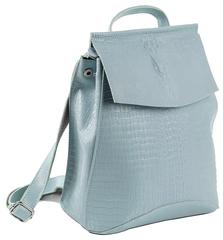 Рюкзак женский JMD Reptilia 3203 Голубой