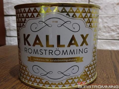 surstromming KALLAX ROMSTROMMING