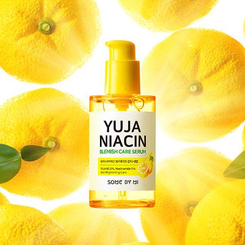Антиоксидантная восстанавливающая сыворотка с витамином С и ниацинамидом, 50 г / Some By Mi Yuja Niacin Blemish Care Serum