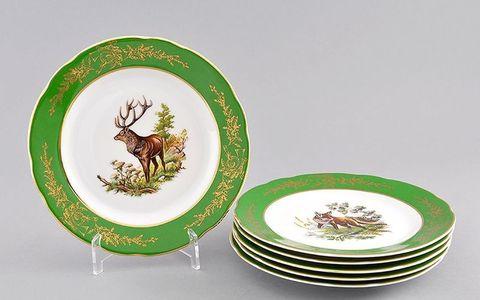 Набор тарелок мелких 6 штук 19 см Мэри-Энн Leander