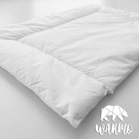 Тоненька подушка 40х60см в дитяче ліжечко (Італійський батист + Штучний лебединий пух)