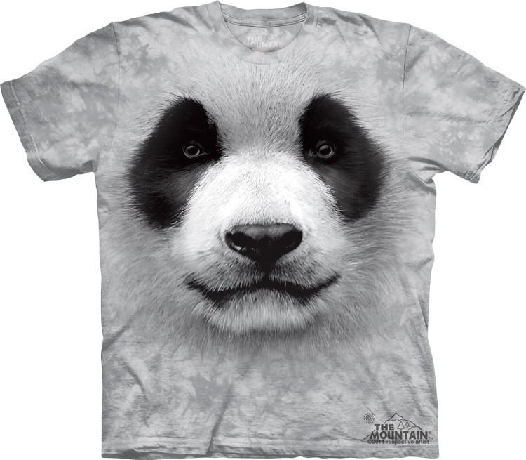 Футболка Mountain с изображением панды - Big Face Panda