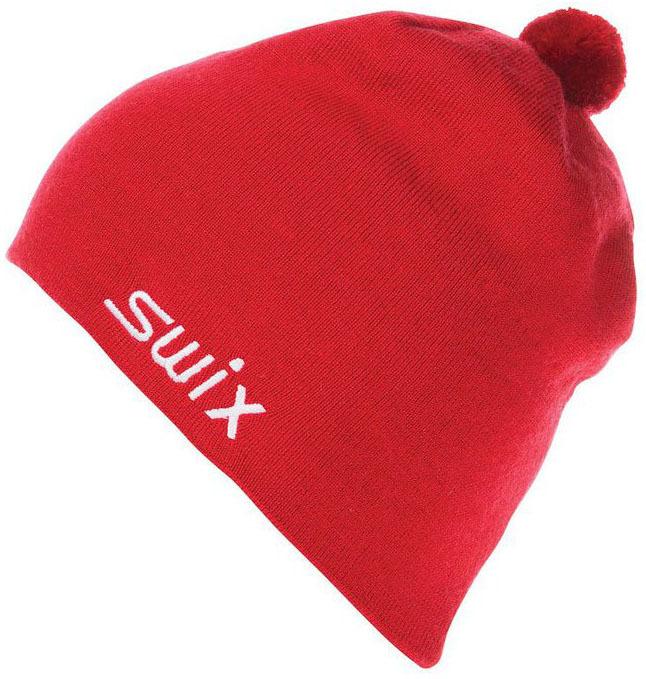 Спортивные шапки Шапка Swix Tradition красный 46574_90000.jpg