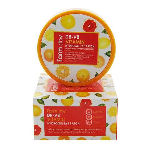 FarmStay Dr-V8 Vitamin Hydrogel Eye Patch - Патчи гидрогелевые с витаминами