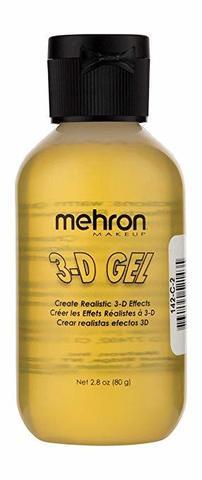 MEHRON 3-D Гель для спецэффектов Makeup 3-D Gel (2 oz), Clear - (прозрачный), 60 мл