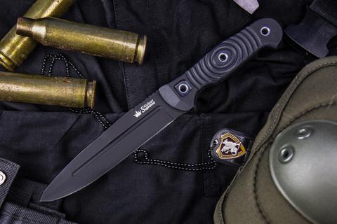 Туристический нож Legion AUS-8 Black Titanium