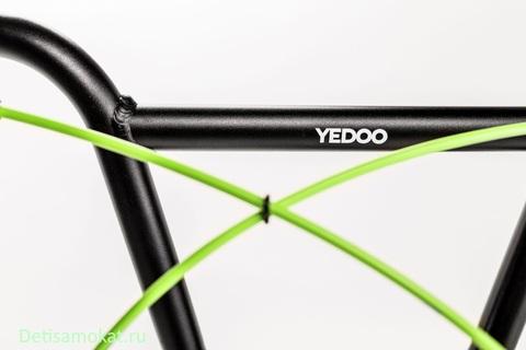 купить черный самокат yedoo ox new
