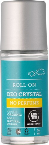 Urtekram Шариковый дезодорант-кристалл без аромата, 50 мл