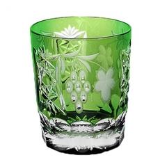 Стакан низкий 390мл Ajka Crystal Grape зеленый