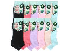 BC504 носки женские 36-41, (12шт) цветные