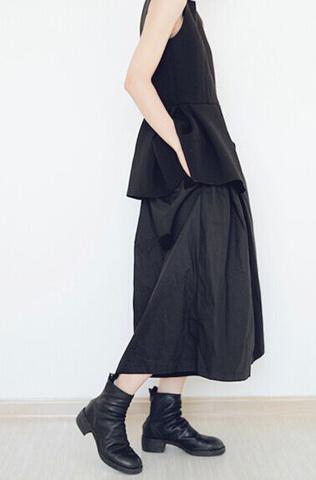 Женские широкие штаны