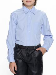 873-6 рубашка для мальчиков, светло-голубая