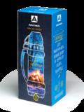 Термос в молотковой эмали «Арктика» черный, 1 литр