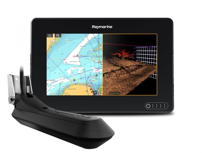 Raymarine Axiom 7 with RV100 transducer