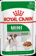 Консервы для собак мелких пород, Royal Canin Mini Adult, для поддержания прекрасной физической формы