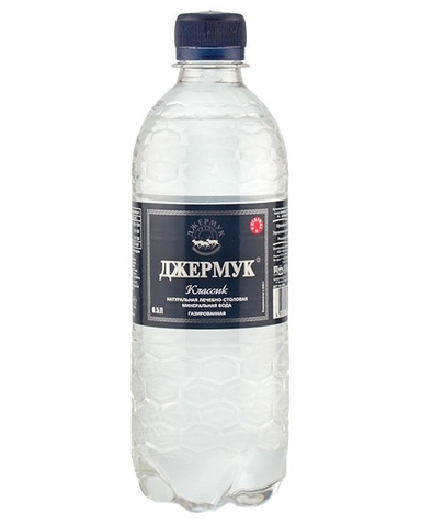 Вода Джермук газированная, 0,5л (ПЭТ)