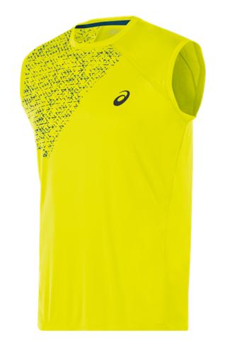 Майка для бега Asics Sleeveless Top (желтая) мужская