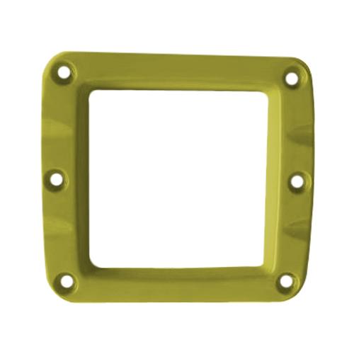 Сменная панель алюминиевая для фар W-Серии, Цвет Жёлтый, 1 штука ALO-2CFY ALO-2CFY