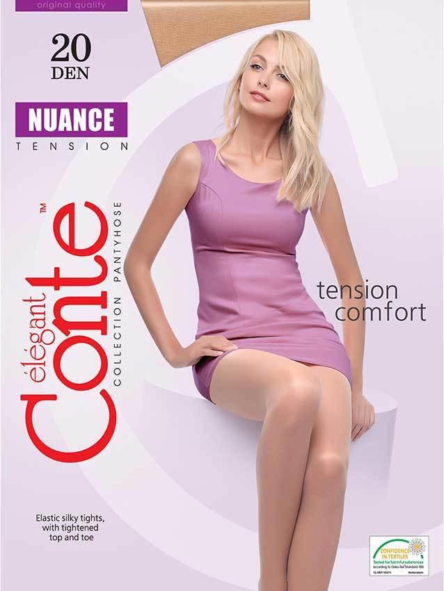 Женские колготки Nuance 20 XL Conte