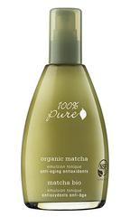 Органический эмульсионный тоник «Зеленый Чай Matcha», 100% Pure