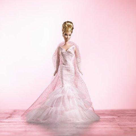 Коллекционная Кукла Барби Розовая Лента -  Pink Ribbon, Mattel