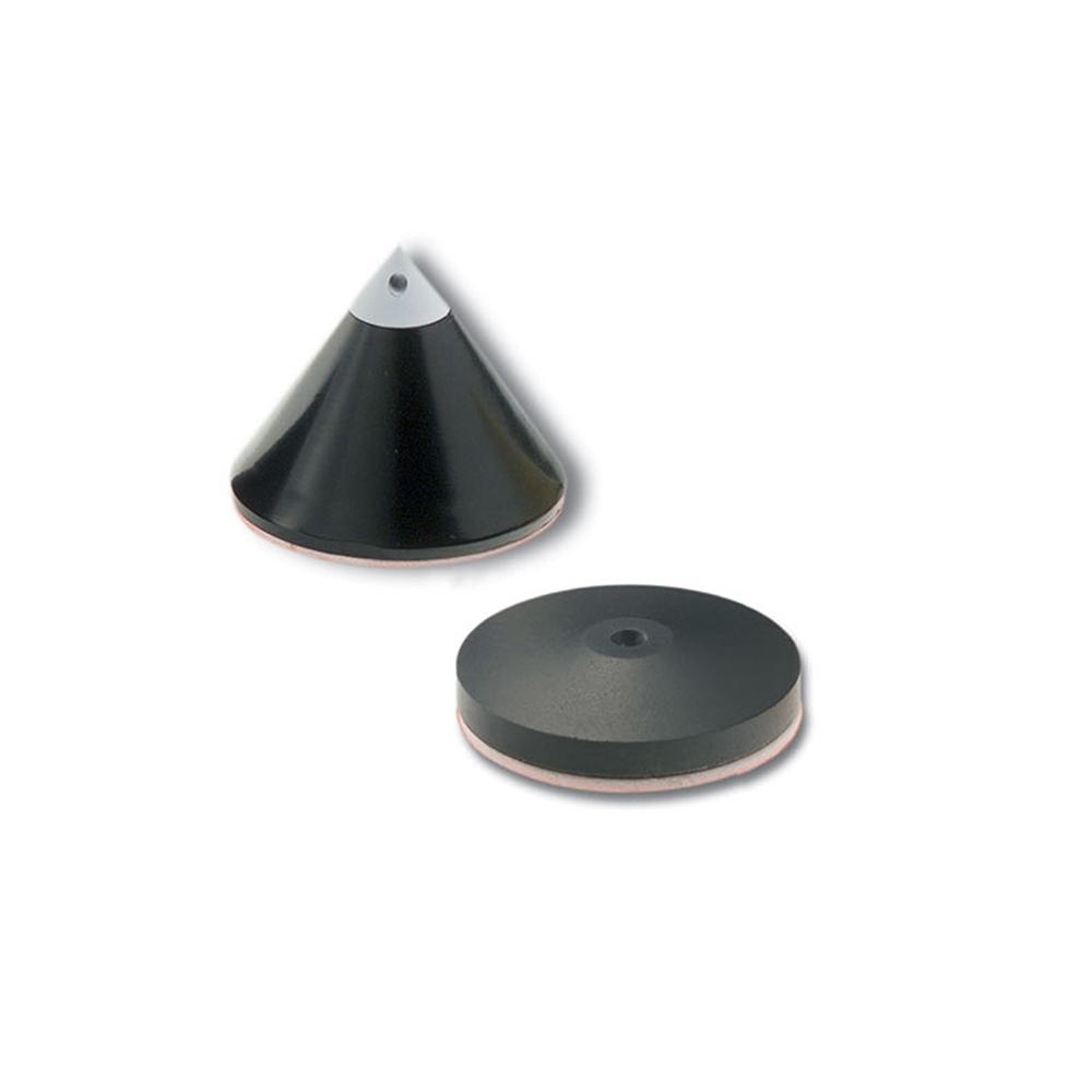 Inakustik Referenz Plate, 4 pcs, black, 00719211